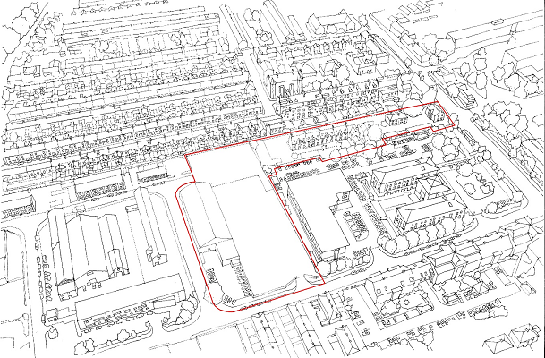 Ordnance lane site outline