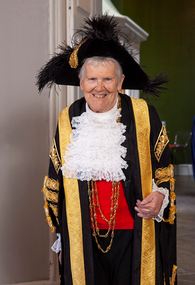 The Lord Mayor of York for 2019/20, Janet Looker.