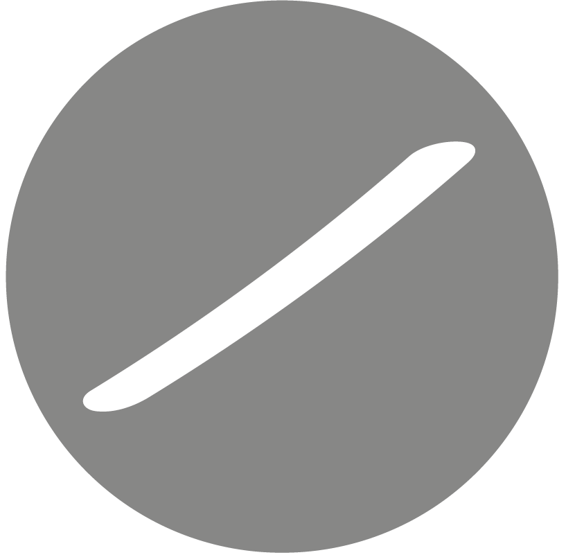 Service not active (grey)