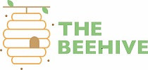 The Beehive logo, a simple beehive hanging from a branch