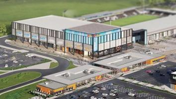 An artist's impression of the York Stadium Leisure complex project.