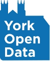 York Open Data logo.